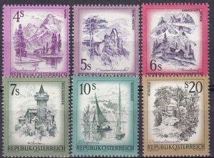 Austria #964, 966-7, 969, 972, 975  MNH CV $10.55 (Z3039)