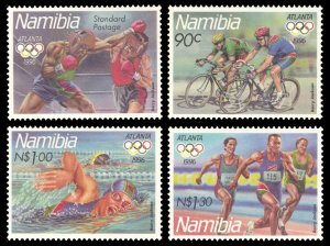 Namibia 1996 Scott #804-807 Mint Never Hinged