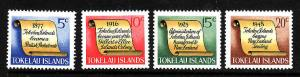 Tokelau-Sc#16-19-Unused NH set-Tokelau History-1969-