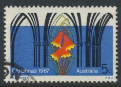 Australia  Sc# 426  Gothic Arches  Christmas 1967  Used