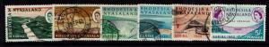 Rhodesia & Nyasaland SG# 32 - 37 Used - S211