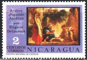 Nicaragua. 1976. 1920. Game of chess. MNH.