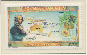 French Polynesia Stamp Scott #C199, Mint Never Hinged - Free U.S. Shipping, F...