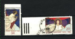 Can #1113,1116   -3    used VF 1986 PD