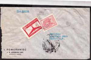 R)1945 ARGENTINA COMMERCIAL COVER I. POMERANIEC BUENOS AIRES