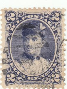 Hawaii, Scott #52 - 2c Dull Violet - Used