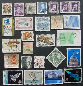 USA, High Values, $1 and up, 25 Different