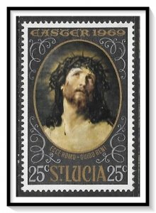 St Lucia #247 Easter Paintings MNH