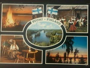1969 Helsinki Finland World Congress Esperanto Real Picture Postcard RPPC Cover