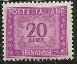 ITALIA REPUBBLICA ITALY REPUBLIC 1947 - 1954 SEGNATASSE TAXES TASSE POSTAGE D...