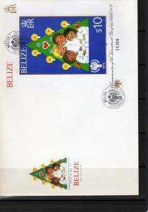 Belize 1980 International Year of the Child S/S Sc#499 Official FDC
