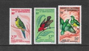 BIRDS - NEW CALEDONIA #C48-49A   MNH