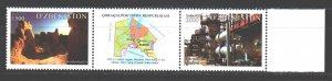 Uzbekistan. 2014. sc 1070-71. Karakalpak Republic. MNH.