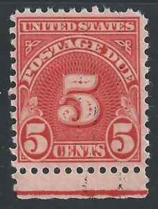US #J73 5c Postage Due