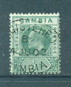 Gambia sc# 28 used cat value $2.75