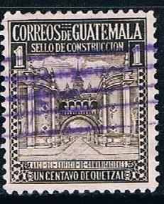 Guatemala RA20, 1c Arch of Communications Building, used, VF