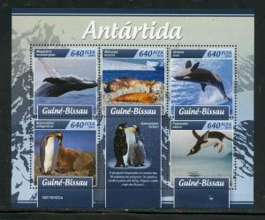 GUINEA BISSAU 2019 ANTARCTICA SHEET MINT NEVER HINGED