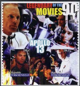 Turkmenistan 2002 Legendary Movies of the '90's - Apollo ...