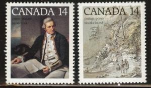 Canada Scott 763-764  MNH** 1978 stamps