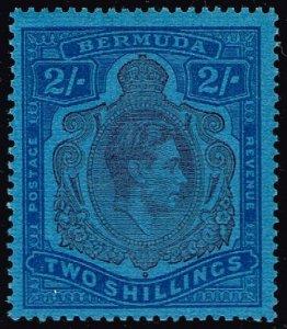 Bermuda #123b King George VI; Unused (3Stars)