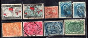 Canada and Colonies good collection x 9V WS12231