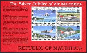 Mauritius Sc# 772a MNH 1993 Air Mauritius 25th