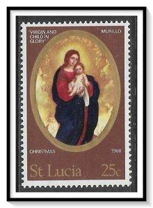 St Lucia #239 Christmas MNH