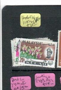 MALAYA KEDAH (PP2706B)  ORCHIDS SG 115-121    VFU