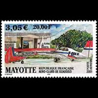 MAYOTTE 2001 - Scott# C5 Aero Club Set of 1 NH