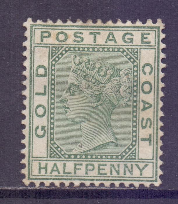 Gold Coast Scott 11 - SG11, 1884 Victoria 1/2d MH*