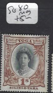 TONGA (P0605BB)  1/-  SG 80  MOG