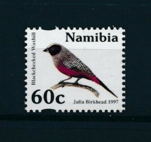 [103004] Namibia 1997 Bird vogel oiseau wax bill  MNH