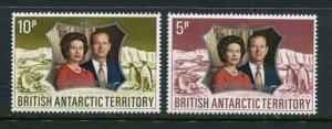 British Antarctic Territory #43-4 MNH