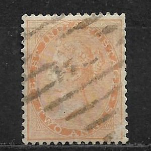 COLLECTION LOT OF # 15 INDIA 1855 CV = $ 37.50