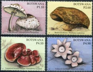 Botswana. 2007. Fungi of Botswana (MNH OG) Set of 4 stamps