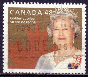 Canada. 2002. 2022. Queen. USED.