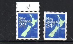 New Zealand #649 Mint and Used