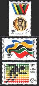 Turkey. 1984. 2679-81. Los Angeles, Summer Olympics. MNH.