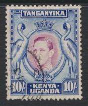 Kenya Uganda Tanganyika KUT - Used  - SG 149 SC#84a -   perf 13¼    see details