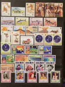 TRISTAN DA CUNHA Stamp Lot MNH MH OG T2490