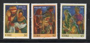 Ireland Sc 1157-59 1998 Christmas, stamp set mint NH