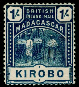 MADAGASCAR SG60, 1s slate-blue, M MINT. Cat £14.