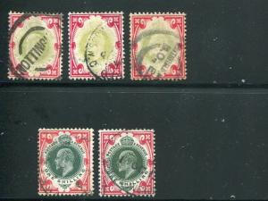 Great Britain  SG 257,a,313,314  used VF