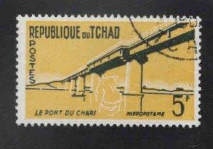 Chad TCHAD Scot 75 Used stamp