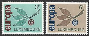 Luxembourg #432-433 MNH Set of 2 Europa