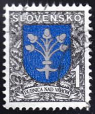 Slovakia # 169 used ~ 1k Coat of Arms