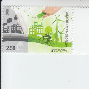 2016 Georgia Think Green Europa (Scott 517) MNH