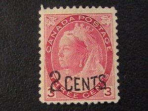 CANADA # 88--MINT/NO GUM----SINGLE----1899