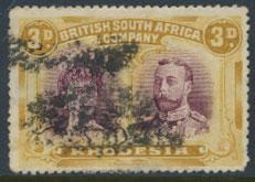British South Africa Company / Rhodesia  SG 173 Used perf 15 see scans & details
