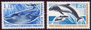 Scott #67-8 Dolfins MNH